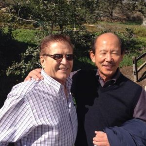 Vic Martinov and H.C. Hwang lifetime friends