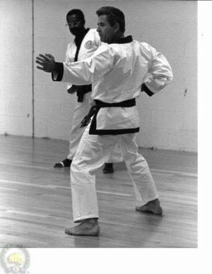Vic Martinov at Masters test (Ko Dan Ja Shim Sa) in Springfield NJ