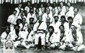 1975 charter convention group photo at JFK Hilton NY