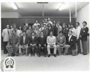 Grandmaster Hwang Kee visits California in 1974