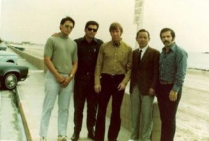 Gerry Taylor, Vic Martinov, Chuck Norris, Hwang Kee, and Pat Johnson
