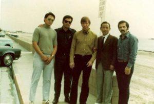 Gerry Taylor, Vic Martinov, Chuck Norris, Hwang Kee, and Pat Johnson
