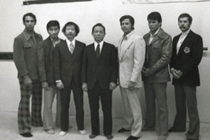 Hwang Kee visit to USA in 1974