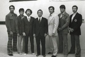Hwang Kee visit to USA in 1974